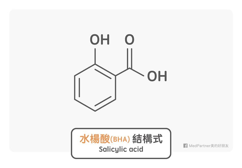 水楊酸結構式