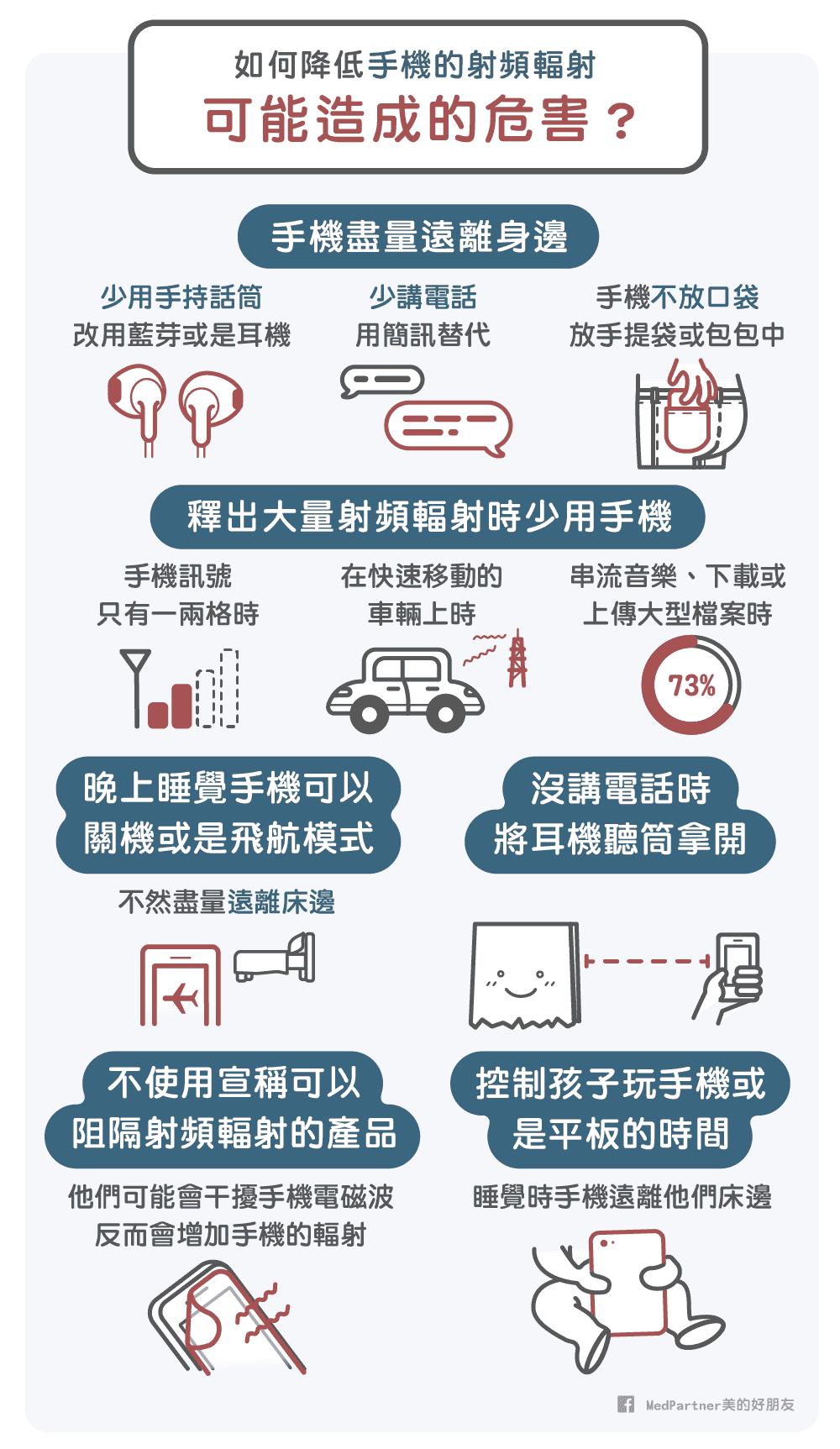 如何降低手機輻射傷害