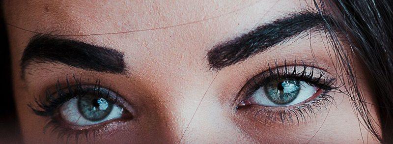 傳統紋眉意示圖