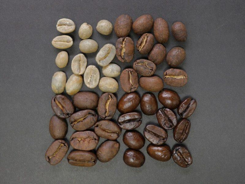 綠咖啡豆示意圖