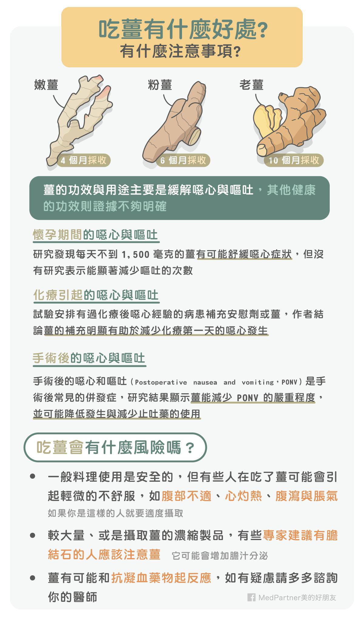 薑_功效與風險