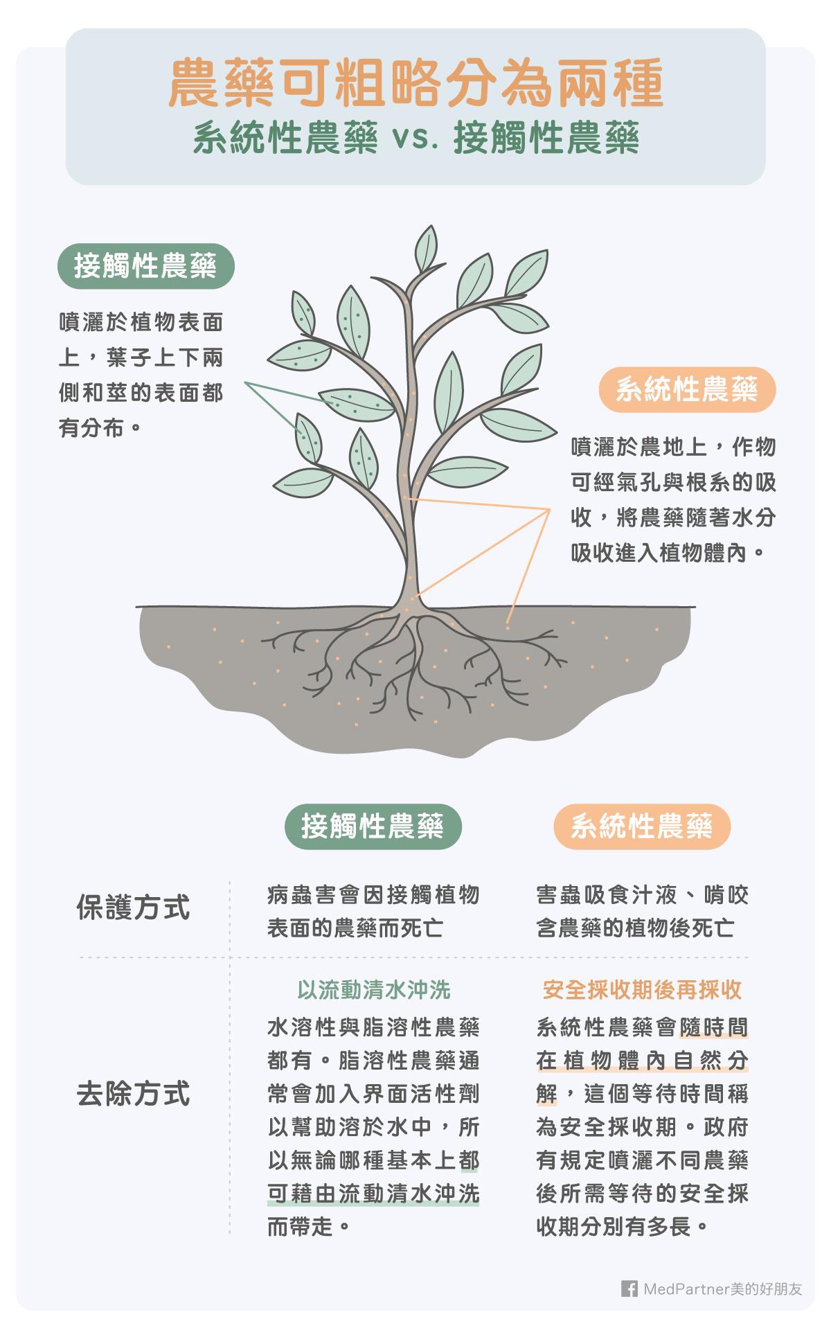 蔬果清洗_系統性與接觸性農藥