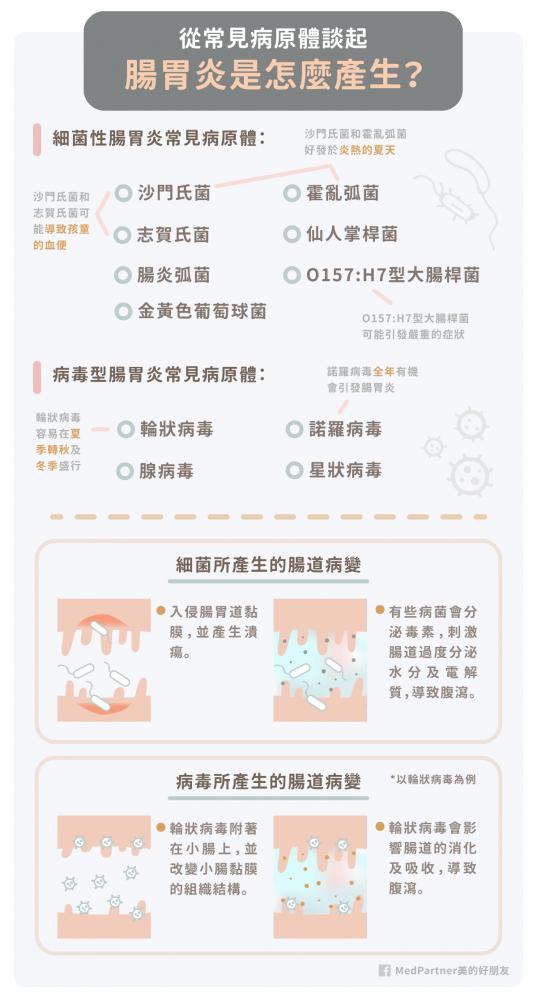 腸胃炎_成因